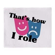 How I Role Throw Blanket