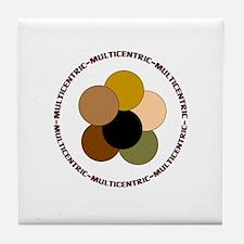 Multicentric/ Multiracial Pride Tile Coaster