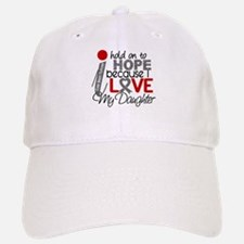 I Hold On To Hope Brain Tumor Hat