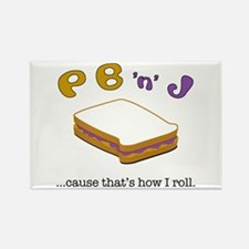 PBJ Rectangle Magnet