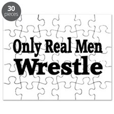Only Real Men Wrestle Puzzle