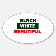 Biracial Pride Oval Decal