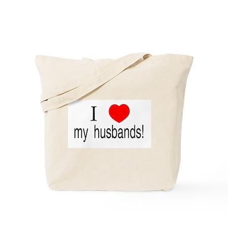 I <3 my husbands Tote Bag