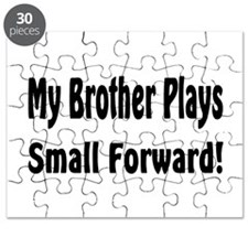 Cute Big brother basketball Puzzle