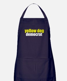 Yellow Dog Democrat Apron (dark)