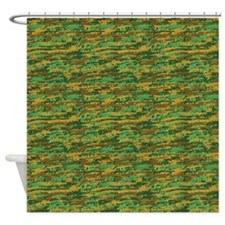 Woodland Gunouflage Shower Curtain