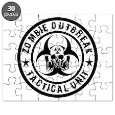 Zombie Outbreak Tactical unit Puzzle