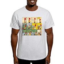 Trouble Full Comic Board T-Shirt