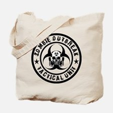Zombie Outbreak Tactical unit Tote Bag