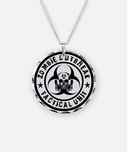 Zombie Outbreak Tactical unit Necklace