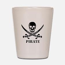 Pirate Shot Glass