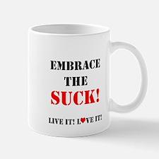 EmbraceTheSuck Mugs