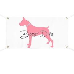 Diamonds Boxer Diva Banner