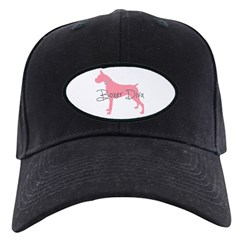 Diamonds Boxer Diva Baseball Hat