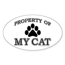 Property of My Cat Decal