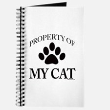 Property of My Cat Journal