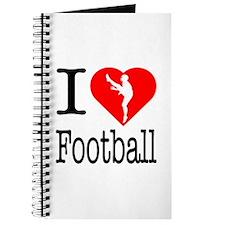 I Love Football Journal