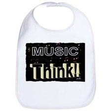 think music Bib