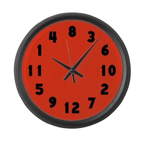 Wrong Large Wall Clock