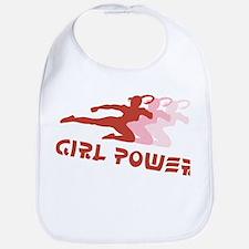 Martial Arts Girl Power Bib