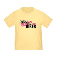 Forget the Cowboy, Ride a Biker T