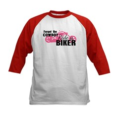 Forget the Cowboy, Ride a Biker Tee