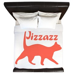 Pizzazz Cat King Duvet