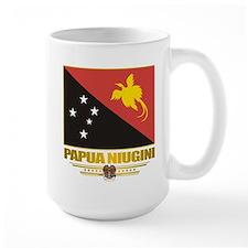 """Papua New Guinea Flag"" Mug"