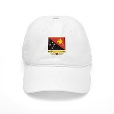 """Papua New Guinea Flag"" Baseball Cap"