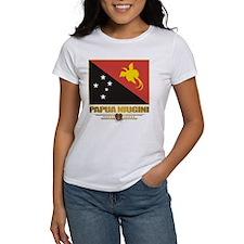 """""""Papua New Guinea Flag"""" Tee"""