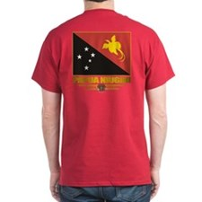 """Papua New Guinea Flag"" T-Shirt"