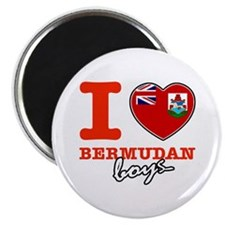 I love Bermudan boys Magnet