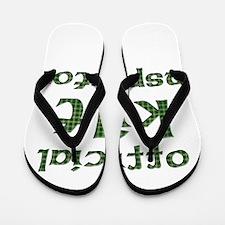 Official Kilt Inspector Flip Flops