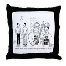 What Would Jesus Do? Throw Pillow