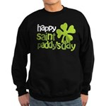 Happy St. Paddy's Day Sweatshirt (dark)