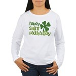 Happy St. Paddy's Day Women's Long Sleeve T-Shirt