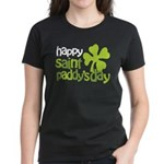 Happy St. Paddy's Day Women's Dark T-Shirt