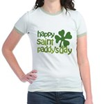 Happy St. Paddy's Day Jr. Ringer T-Shirt