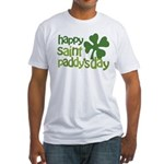 Happy St. Paddy's Day Fitted T-Shirt