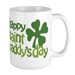 Happy St. Paddy's Day Large Mug