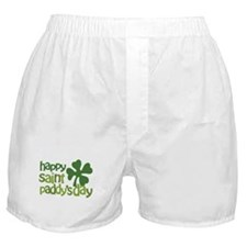 Happy St. Paddy's Day Boxer Shorts