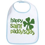 Happy St. Paddy's Day Bib