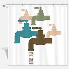 Faucet Conserve Shower Curtain