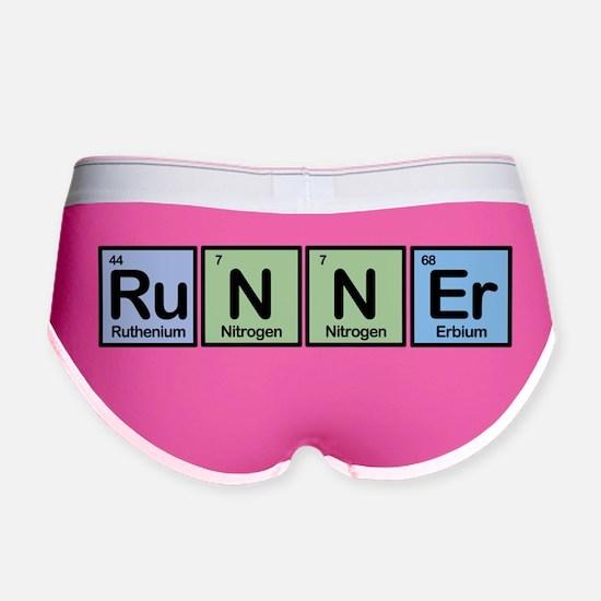 Runner Elements Women's Boy Brief