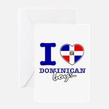 I love Dominican boys Greeting Card