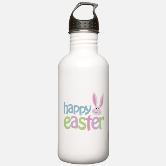 Happy Easter Sports Water Bottle