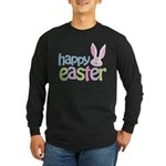 Happy Easter Long Sleeve Dark T-Shirt