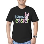 Happy Easter Men's Fitted T-Shirt (dark)