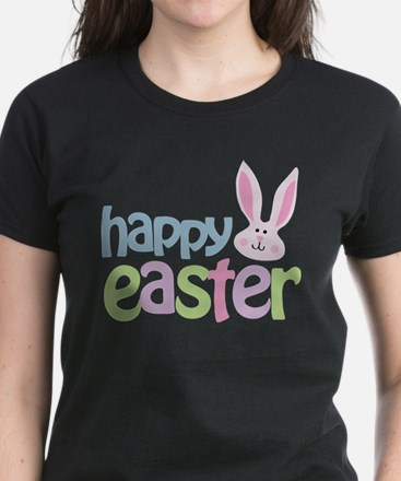 Happy Easter Women's Dark T-Shirt