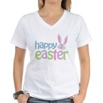 Happy Easter Women's V-Neck T-Shirt